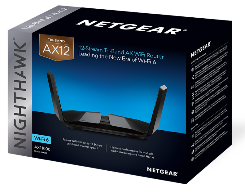 Nighthawk Tri-Band AX12 12