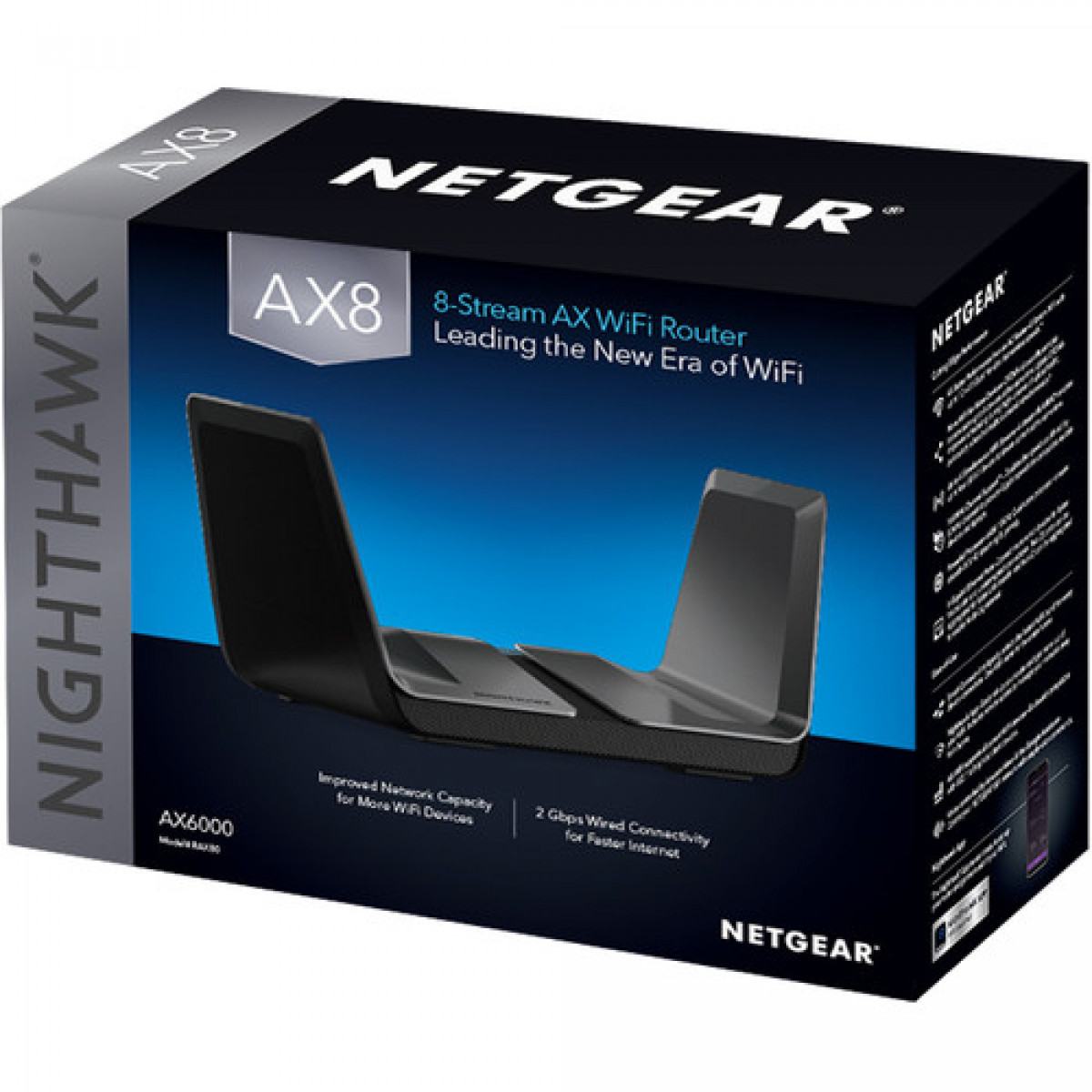 How to manually update Netgear Nighthawk AX8 Wi-Fi 6 router's firmware?