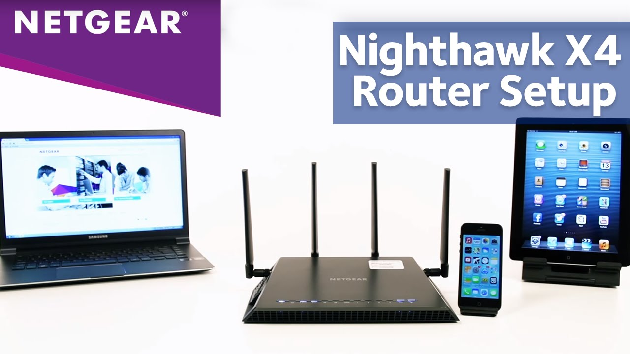 Netgear Nighthawk X4 AC2350 Smart Wi-Fi Router Setup – Routerlogin.net